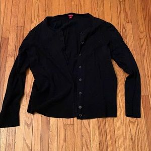 Merona Black Button Up Cardigan Target Staple
